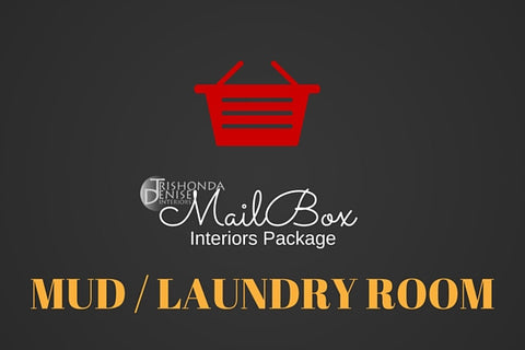 MailBox Interiors Mud / Laundry Room Design Package