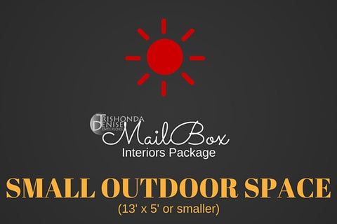 MailBox Interiors Outdoor Space Design Package