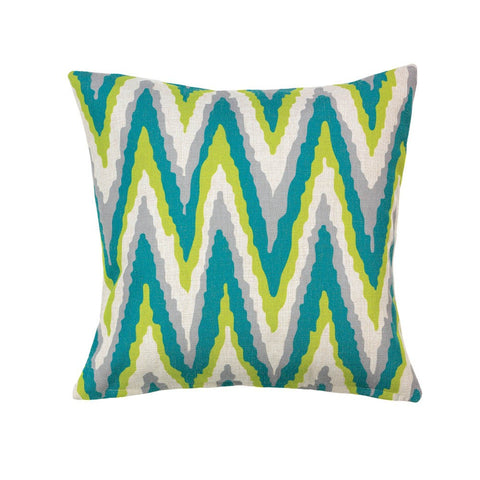 ELECTRIC CHEVRON LARGE PILLOW