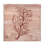 Red Sea-Swept Coral Canvas Wall Art