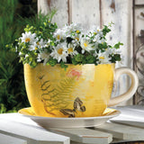 Garden Butterfly Teacup Planter (Multiple Sizes)