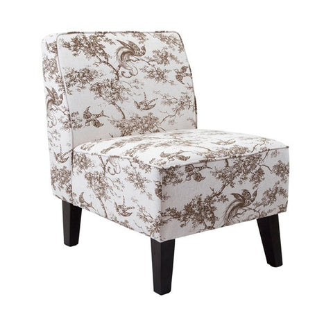 Ave Toile Armless Chair
