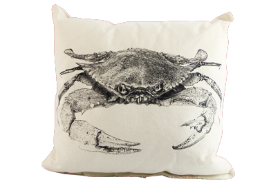 Crab Pillow (Multiple Colors)