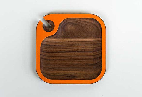 Chroma Walnut Wood Mingler (Multiple Colors)