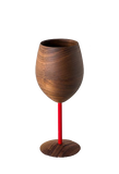 Walnut Stem Glassware (Multiple Stem Colors)