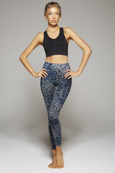 Lianna Leopard Long Pant (Multi Colored)