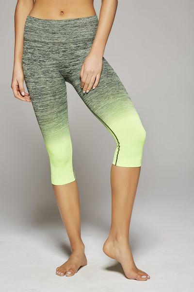 Sam Sunrise Capri (Neon Green/Black)