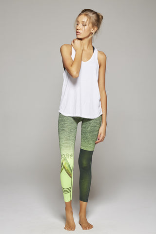 I Love Lucy Long Pant (Neon Green/Black)