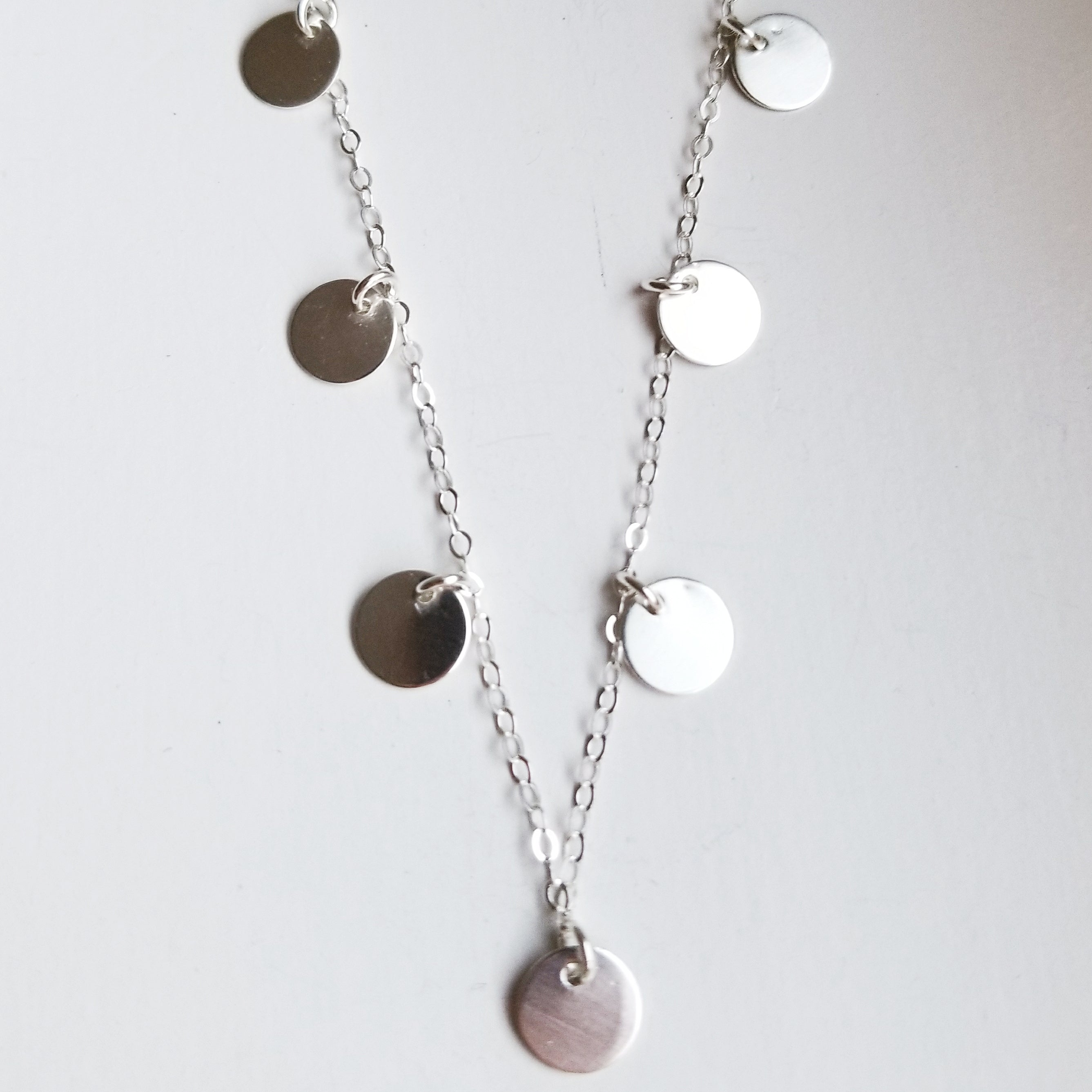 Little Luna necklace - sterling silver