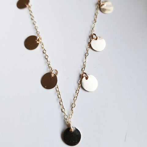 mini heart necklace