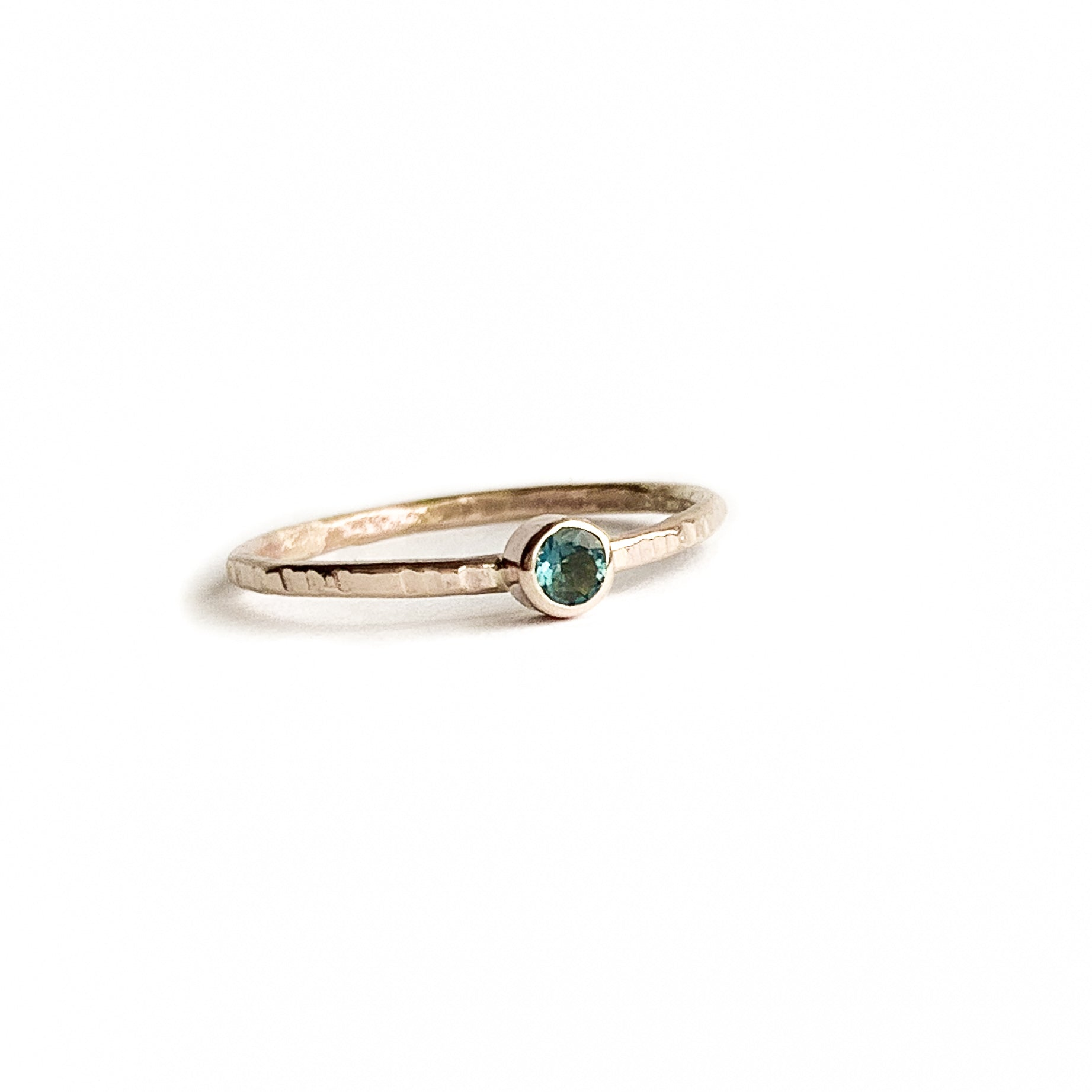 LONDON BLUE TOPAZ ring - Gold