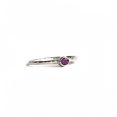 AMETHYST ring - Gold