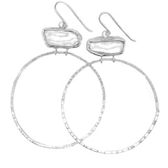 DANU HOOP EARRINGS - Sterling Silver
