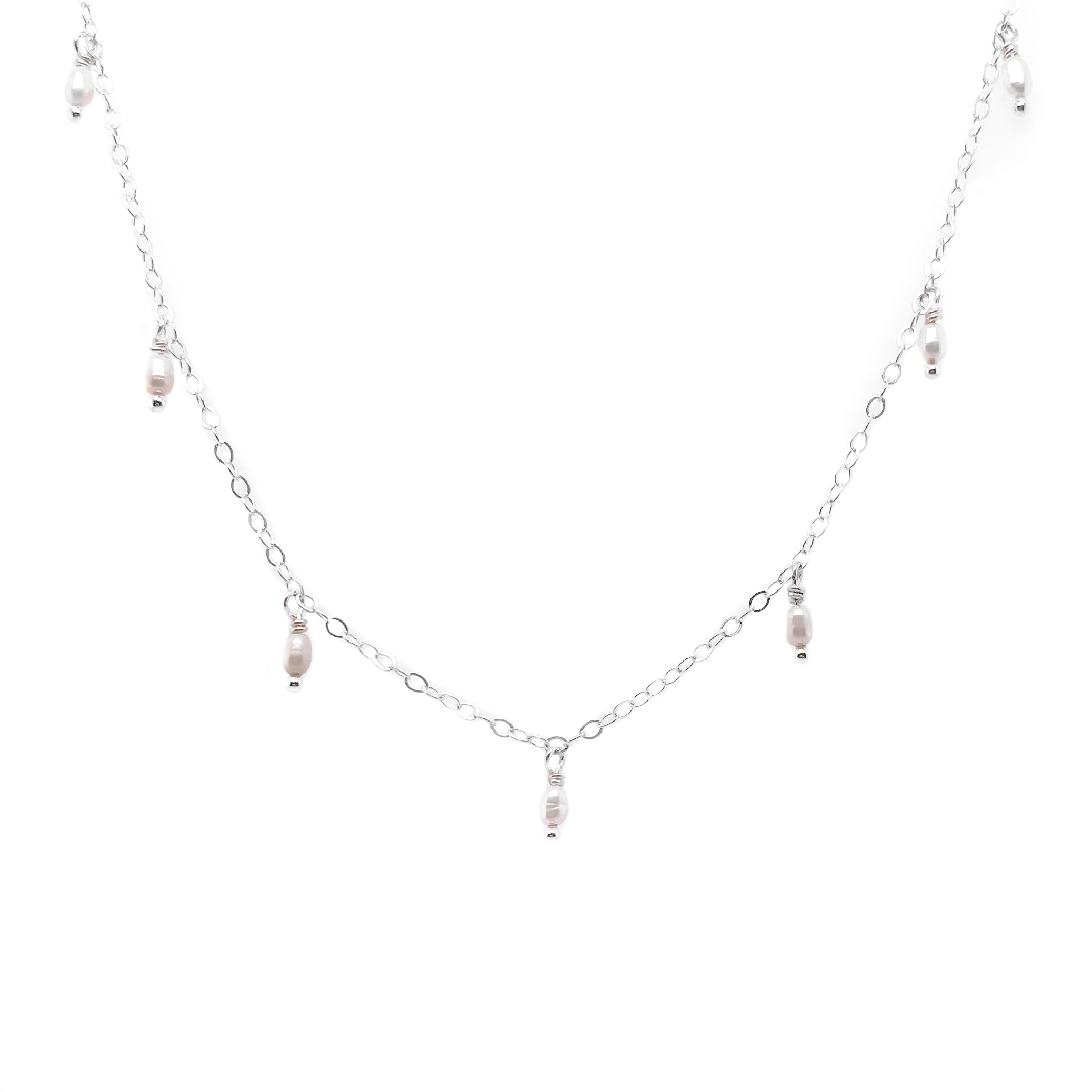 NEDA NECKLACE - Sterling Silver
