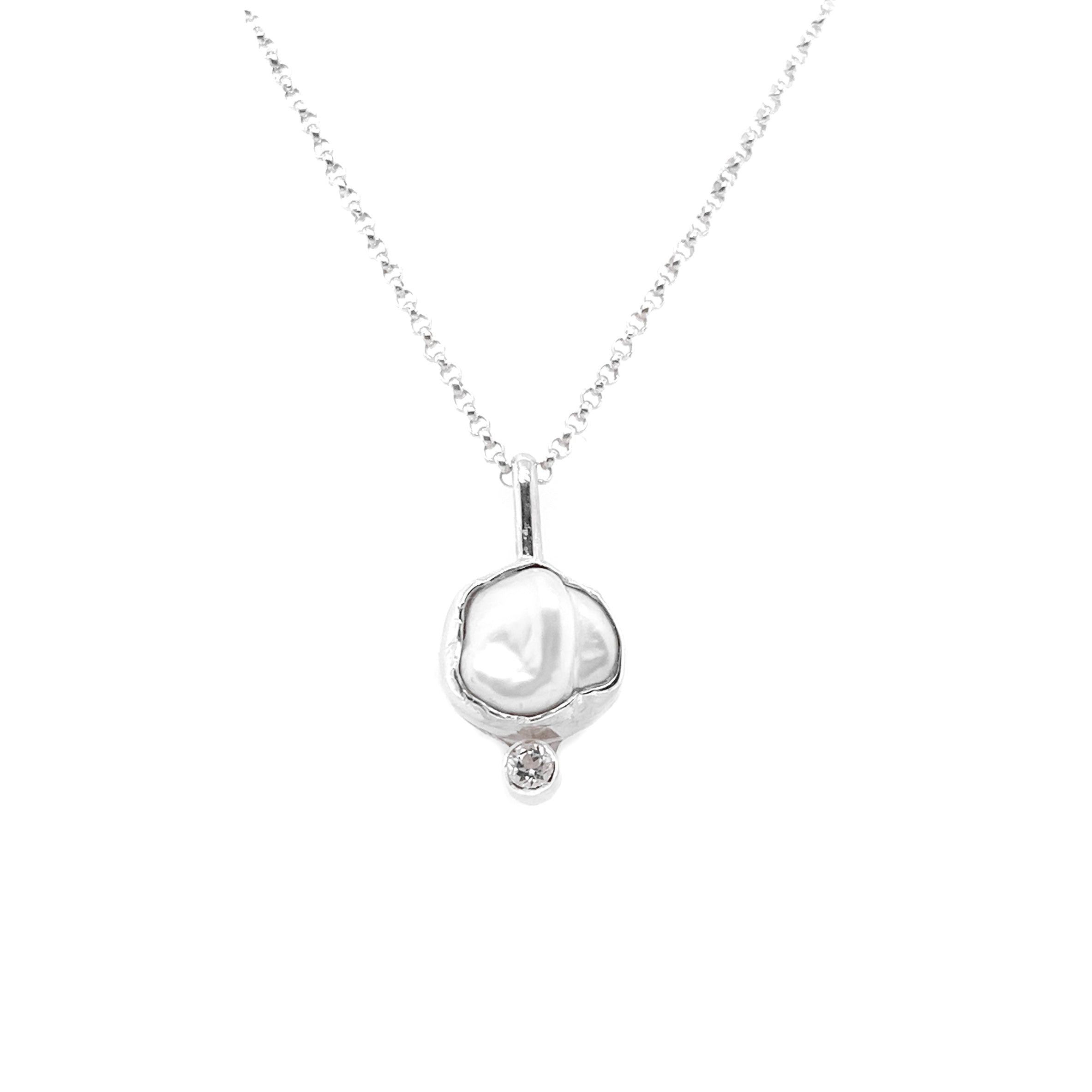 BRIZO NECKLACE - Sterling Silver
