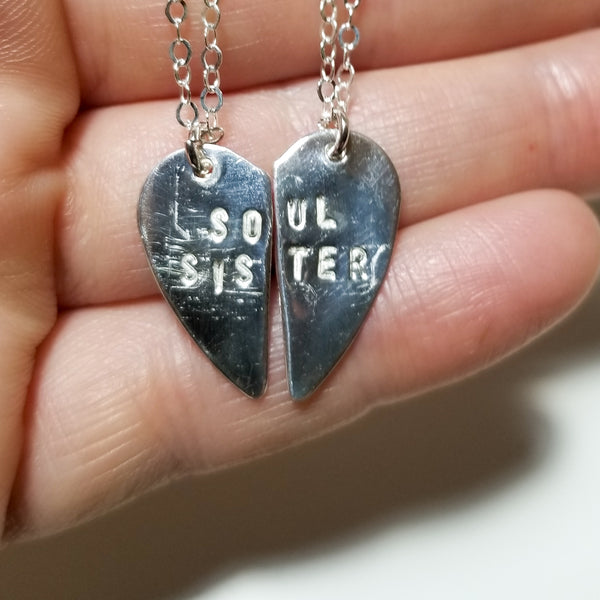 Soul sister - Sterling silver necklaces