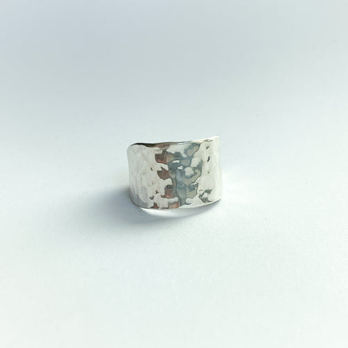 wide band ring - silver