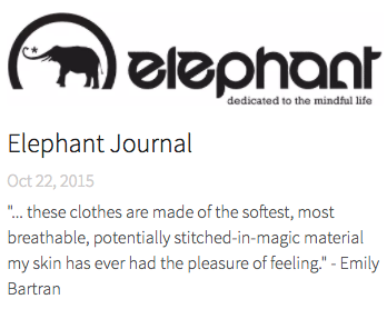 BaliniSports Fabrics - Mentioned By Elephant Journal