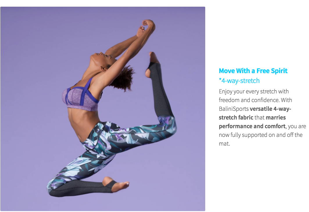 BaliniSports Fabrics - Move with Free Spirit