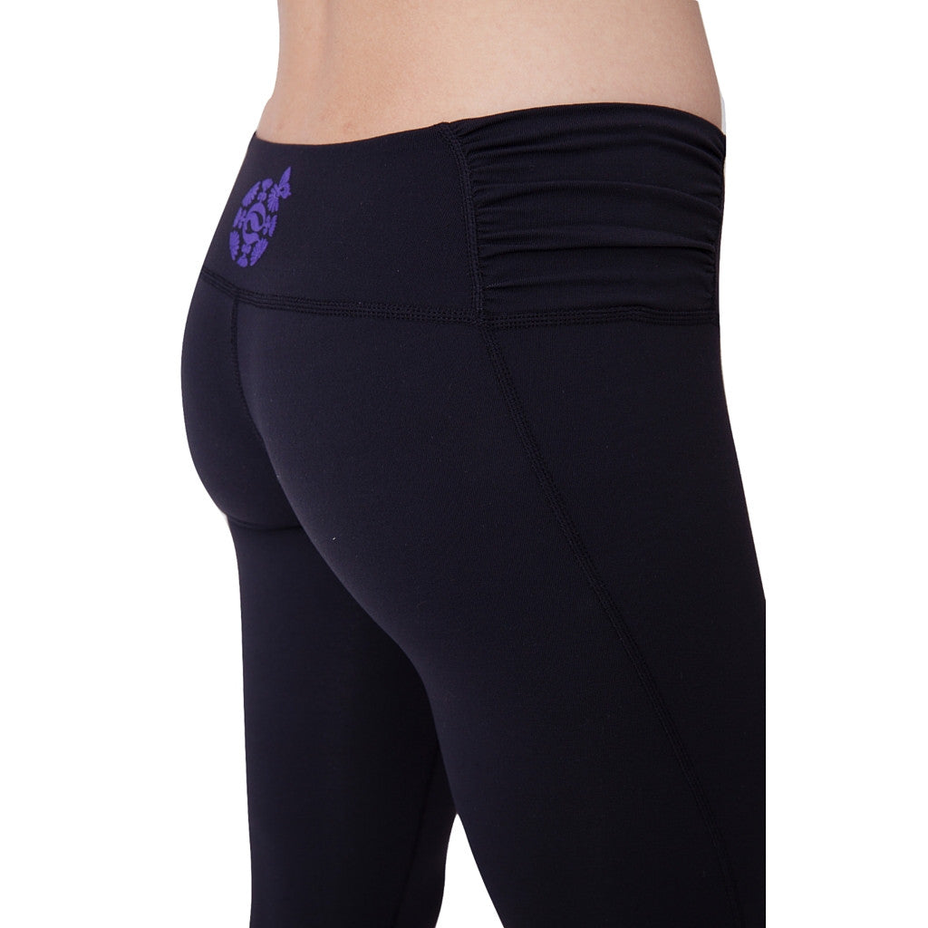 Balini Sports Black Yogini Capris