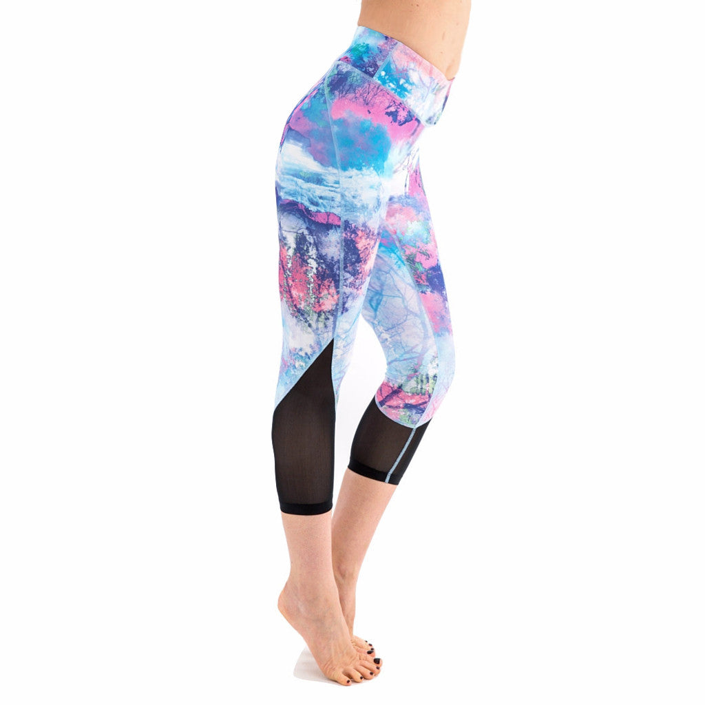 Balini Sports Enchanted Forest Lola Capris