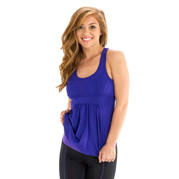 Megan Purple Tank