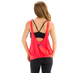 Pink Fiona Tank - BaliniSports Activewear & Yoga Collection