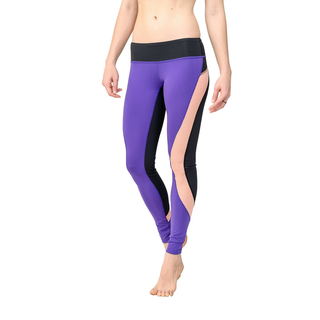 Powerful Indigo Amanda Leggings - BaliniSports Activewear & Yoga Collection