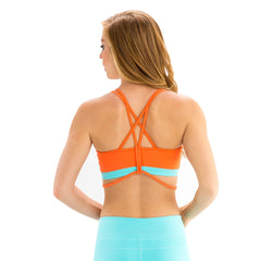 Sunset Pearl Bra - BaliniSports Activewear & Yoga Collection