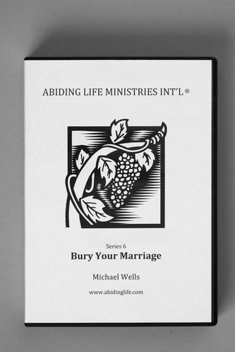 Bury Your Marriage CD
