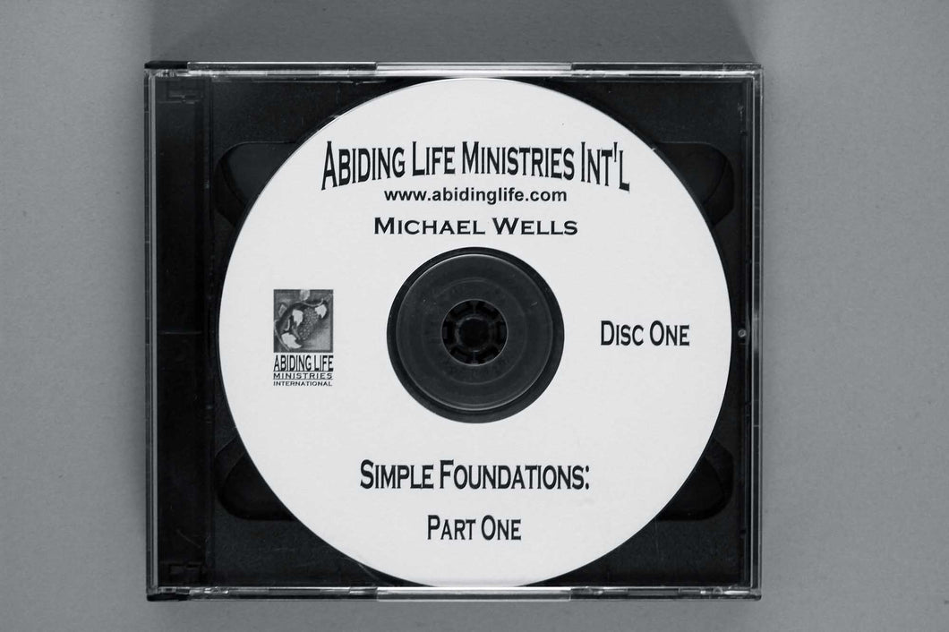 Simple Foundations CD