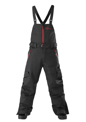 Back Country Bib Pant - Black