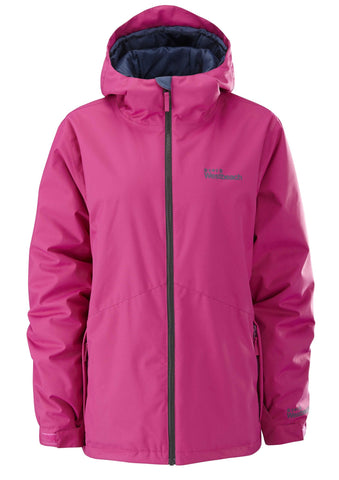 Twist Jacket - Raspberry