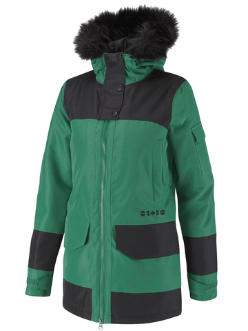 Camrose Jacket - Hunter Green