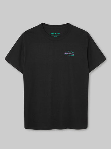 Trail Line T-shirt - Black