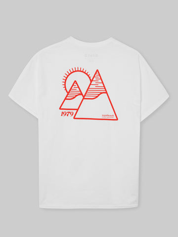 Twin Peak T-shirt - White