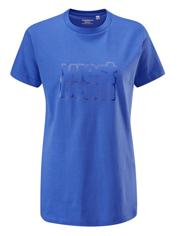 Bloom Tee - Royal Blue