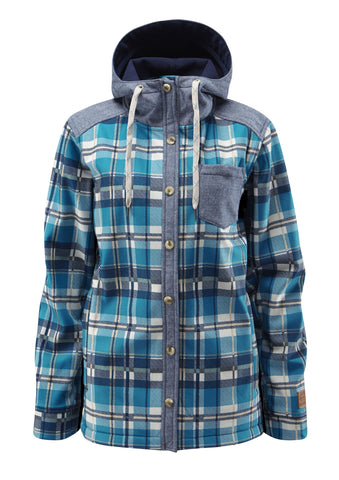Barrett Softshell - Seaweed Plaid