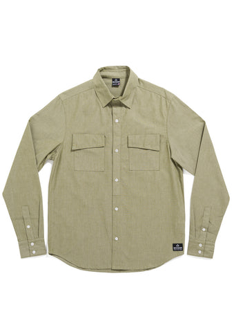 Bunker Long Sleeve Shirt - Sage