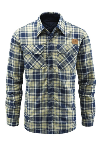 Cedar Reversible Shirt - Clay Plaid