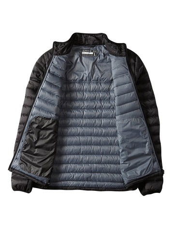 Clampdown Down Jacket - Black
