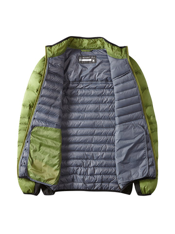 Clampdown Down Jacket - Combat Green