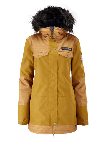 Cloudburst Jacket - Brown Sugar