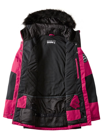 Cloudburst Jacket - Cherry