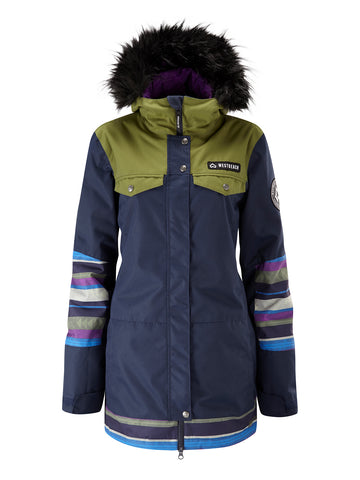 Cloudburst Jacket - Ultramarine