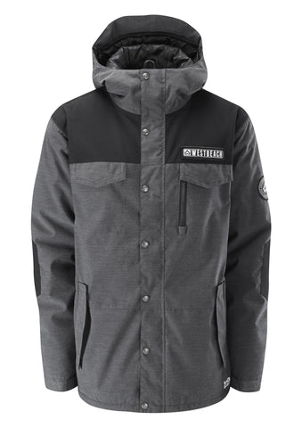 Cook Jacket - Charcoal Marl