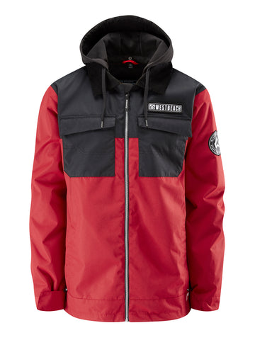 Dauntless Jacket - Chilli Red