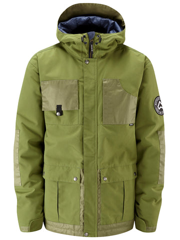 Domineer Jacket - Combat Green