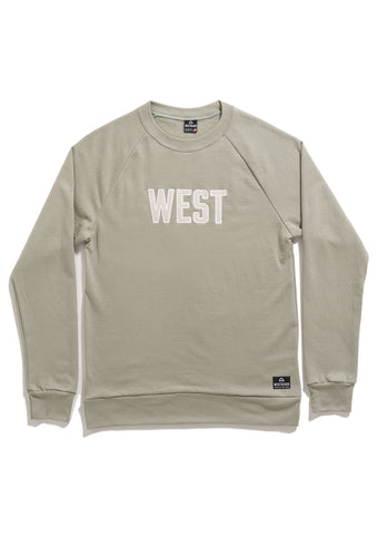 Downtown Crewneck - Sage