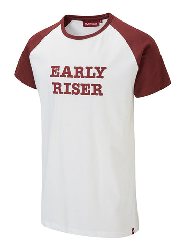 Early Riser Tee - White